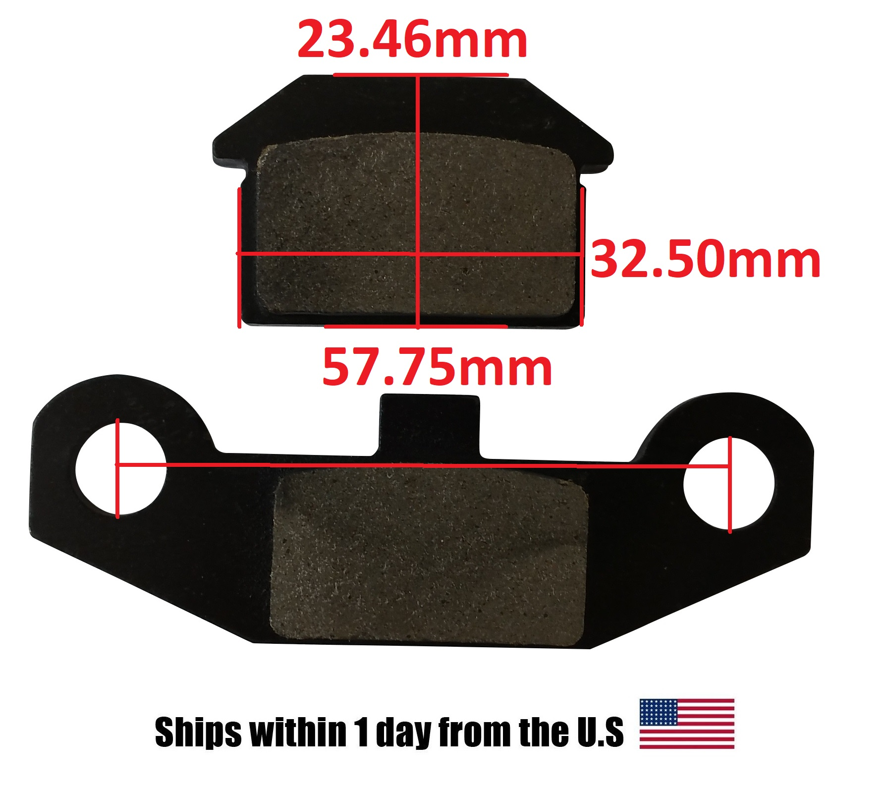 50cc Scooter Brake Pads