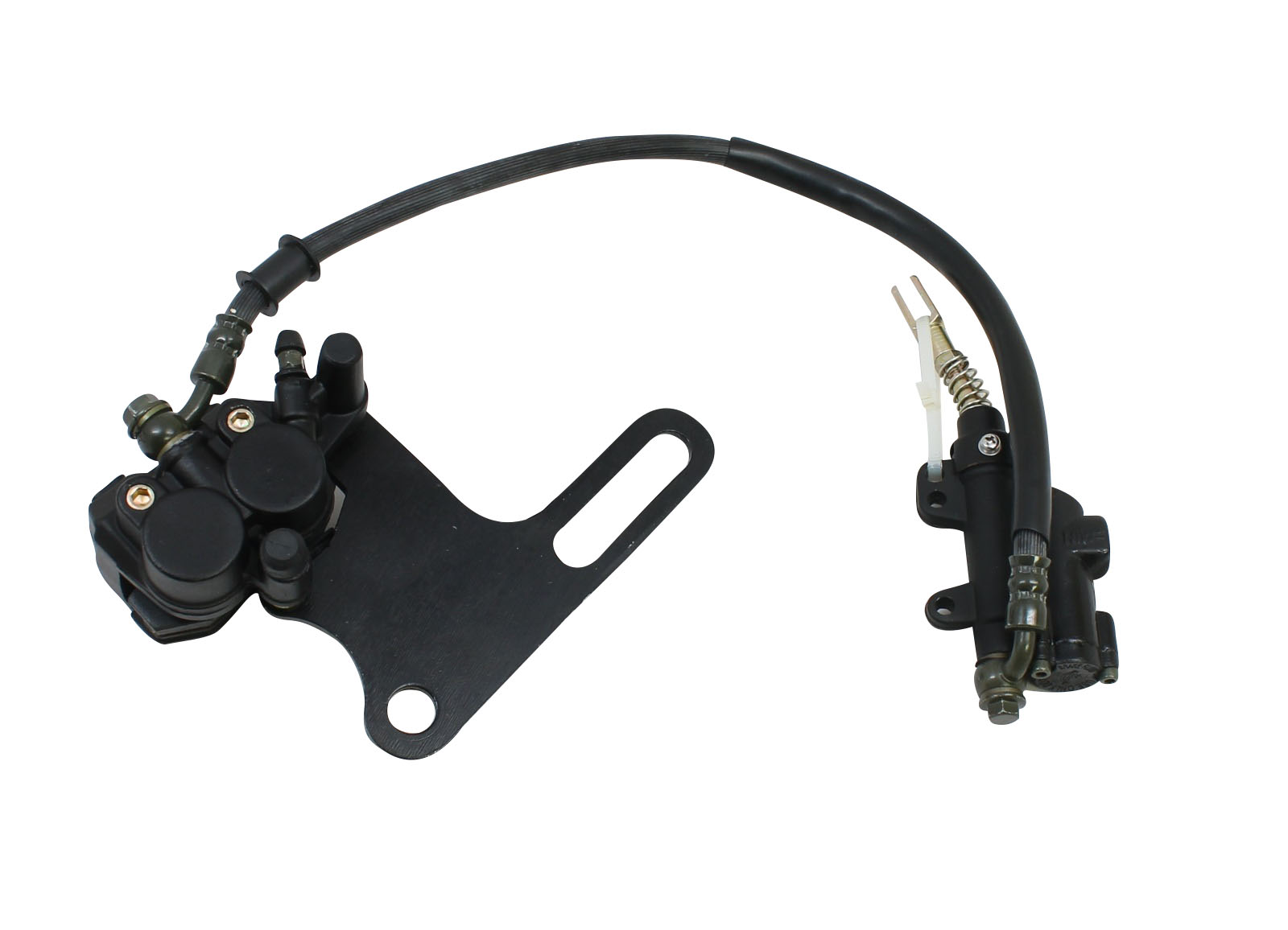 Rear Brake Assembly Master Cylinder Caliper for Chinese Scooters ATVs