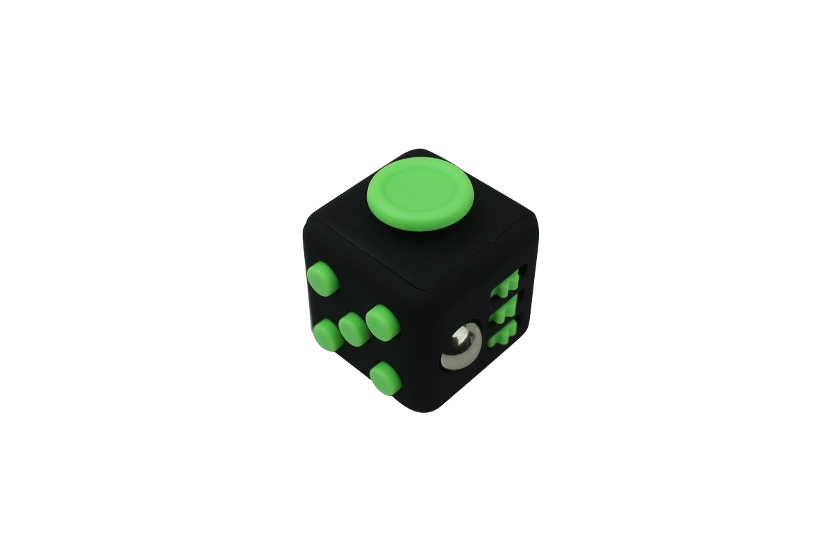 Fidget Cube Black/Green