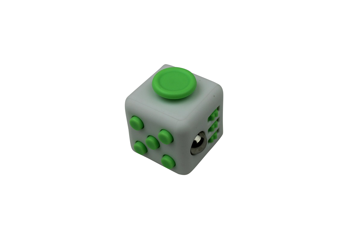 Fidget Cube White/Green