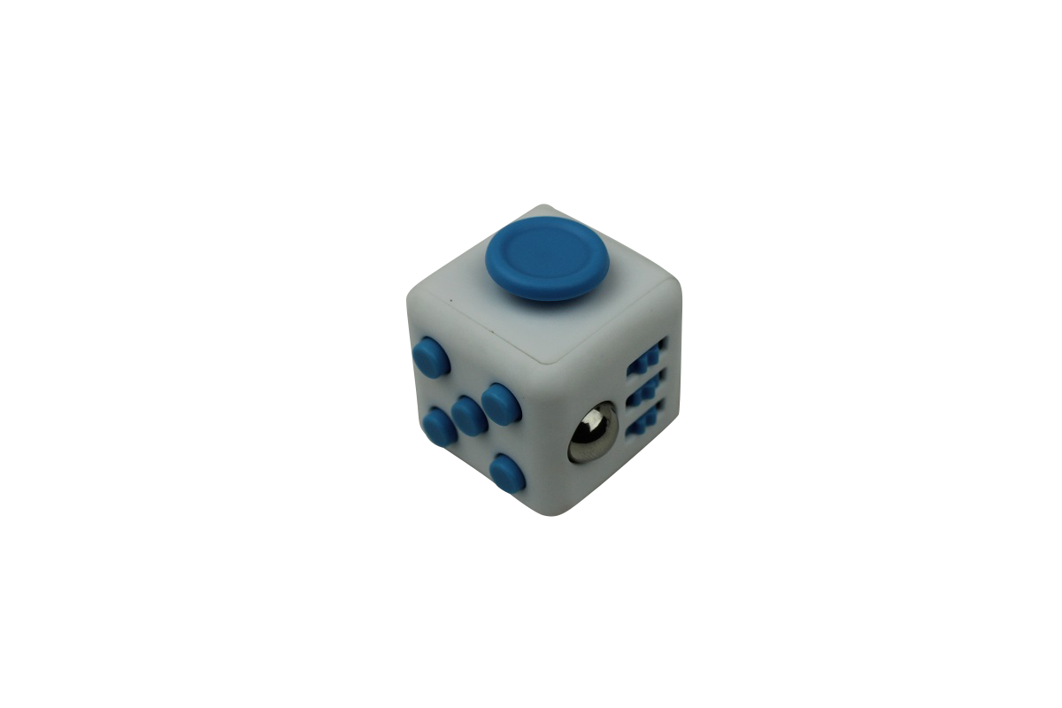 Fidget Cube White/Blue
