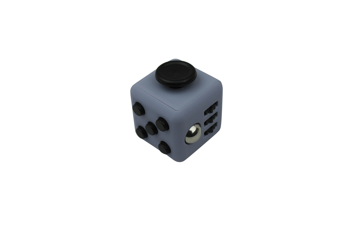 Fidget Cube Grey/Black