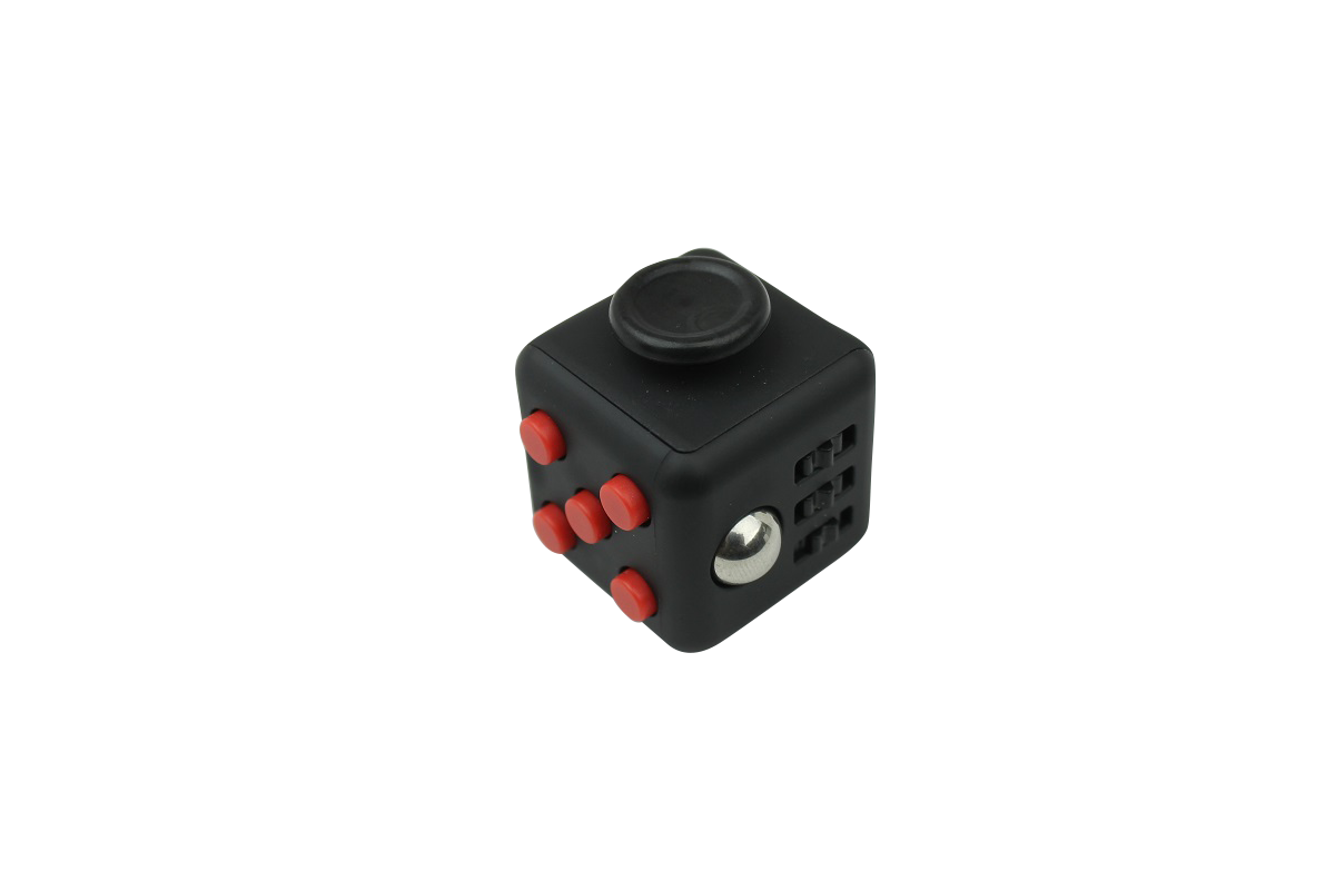 Fidget Cube Black/Red