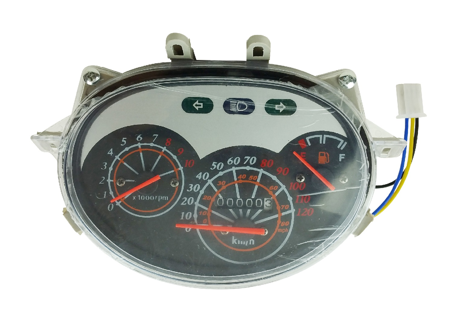 GY6 50cc 150cc Scooter Moped Speedometer Instrument Cluster Gauge VIP Jonway Roketa