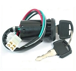 Ignition Switch with Keys, 4-Wire