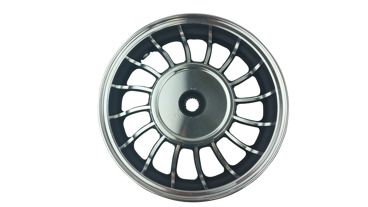 10 Inch Chrome Rear Rim 49 50cc TaoTao Peace New Gy6 Scooters Mopeds MT2.15x10