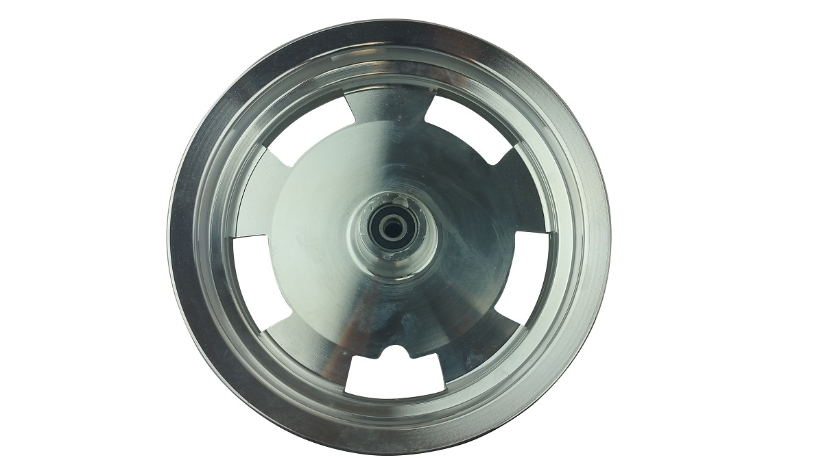 10 Inch Chrome Front Rim 49 50cc TaoTao Peace New Gy6 Scooters Mopeds MT2.50xJ10