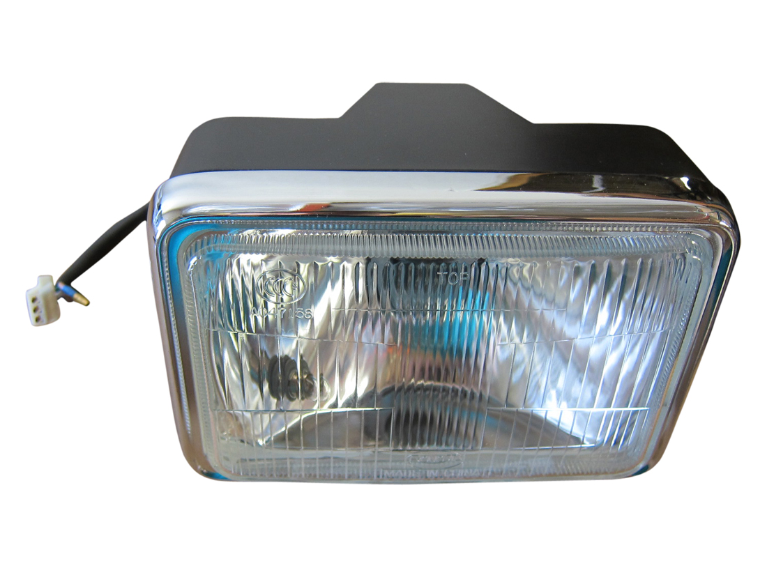 Scooter Headlight Assembly : Headlight assembly scooter moped atv gy zn t cc