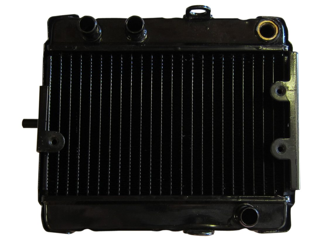 250cc Scooter Radiator ATV Moped Pit Dirt Bike With Temp Sensor Fan Assembly