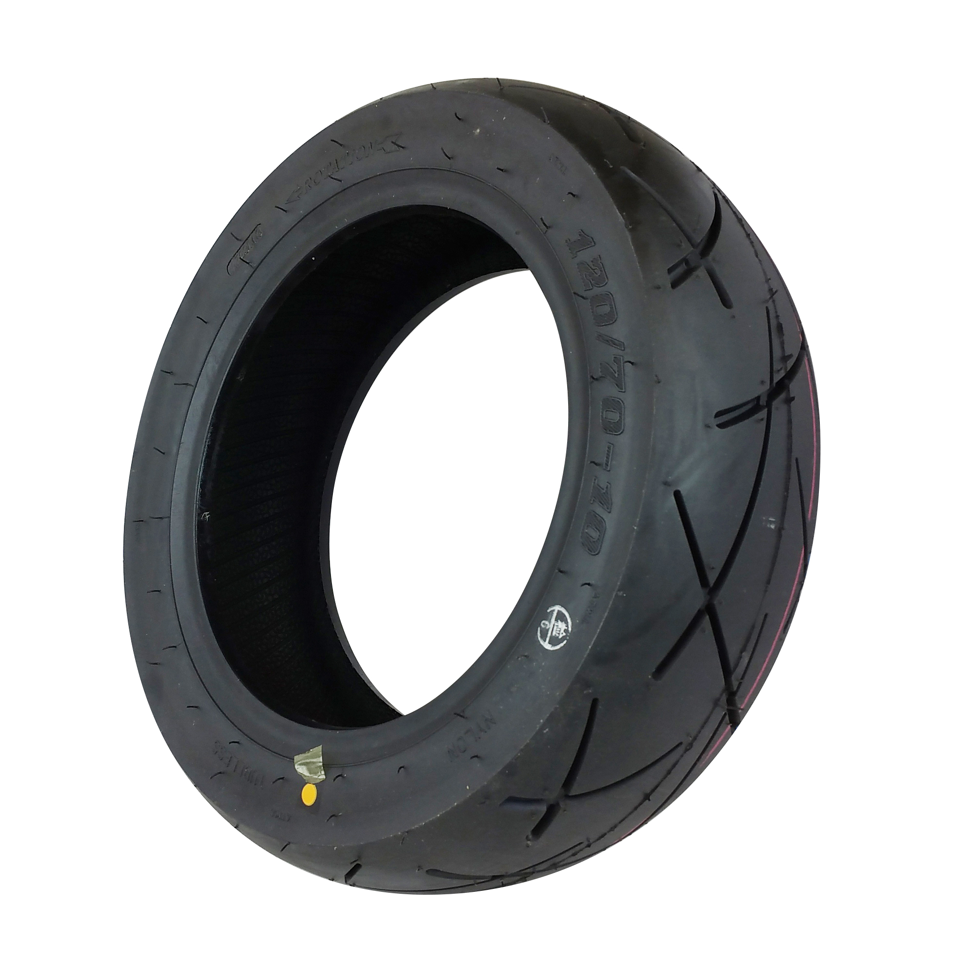 Tire 120/70-10 Tubeless Front/Rear Motorcycle Scooter Moped Ninja Thread