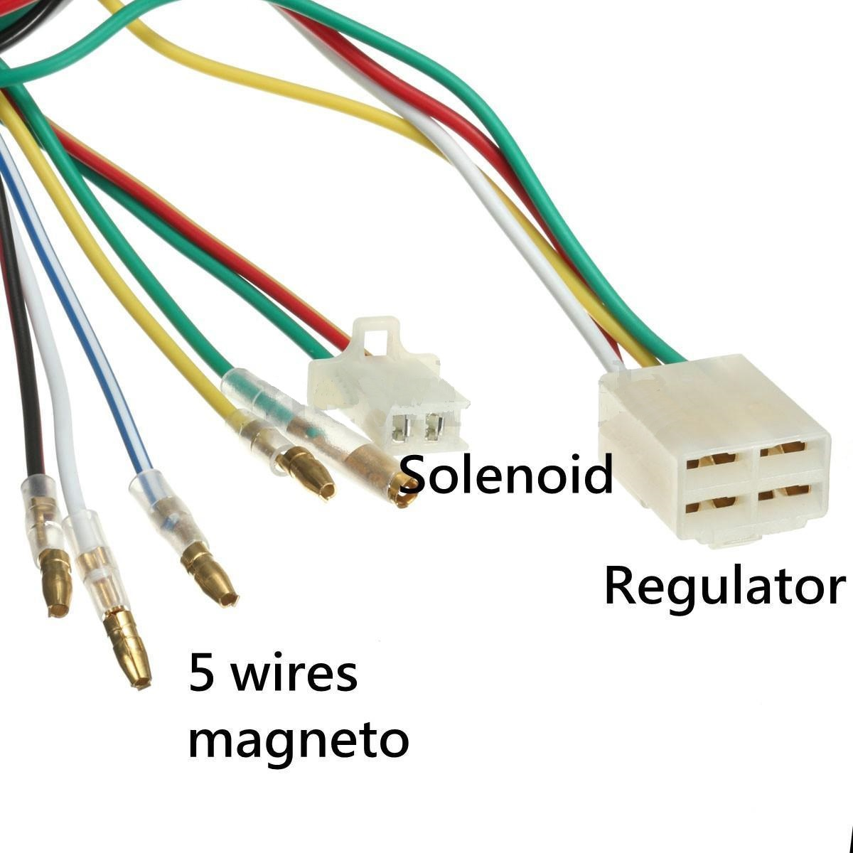 110cc wiring harness wiring diagram and hernes aliexpress full electrics wiring harness cdi coil 110cc