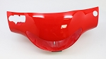 04 - Headlight Cover - RED-ABS Body Parts, Jonway YY50QT-21