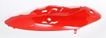 11 - Left Rear Cover - RED-ABS Body Parts, Jonway YY50QT-21