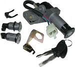 Key Ignition Switch Lock GY6 Scooter Moped 50cc 125cc 150cc 250cc