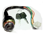 Ignition Switch, 6-wire