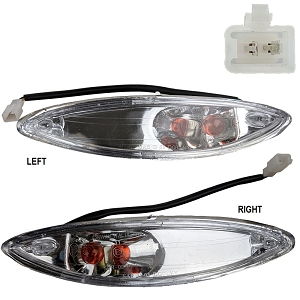 Turn Signal Light Assembly Left & Right YY50QT-21 - Version 2