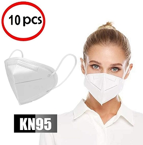10 Pack KN95 Mask Filtration>95%
