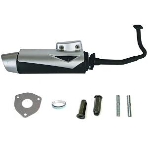 Exhaust System Muffler GY6 50cc Chinese Scooter Moped QMB139