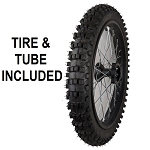 Rim Wheel Tire & Tube Assembly - Front - 17