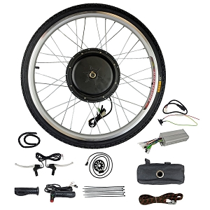 48V 1000W Electric Bicycle Front Wheel Conversion Kit 26