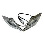 Headlights for ATVs, Set of 2