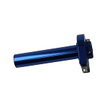 CNC Throttle Grip Handle Control - BLUE- Dirt bike Anodized Aluminum