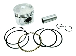 Piston & Ring Set, 39mm, 50cc Scooter
