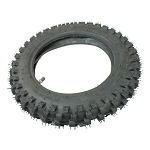 Dirt Bike Tire LARGE KNOBS 3.00-10, 80/100-10 inch with inner tube