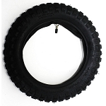 Dirt Bike Tire LARGE KNOBS 2.75-10, 70/100-10 inch with inner tube