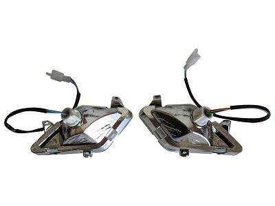 Left/Right Pair Turn Signal Tail Light GY6 Scooter Moped 2